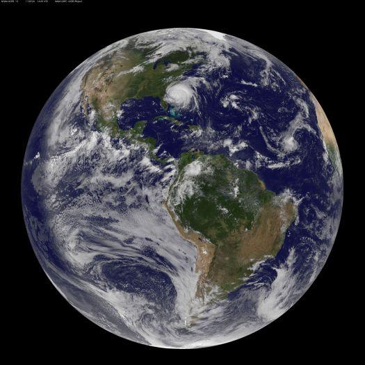 NASA.JPG DESCRIPTION HURRICANE IRENE FULL EARTH VIEW